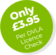 Only £4.95 per DVLA Licence Check