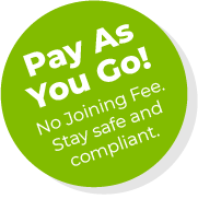 Pay As You Go - No joining fee